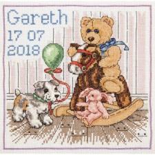 Geboortetegel Hobbelpaard: Gareth