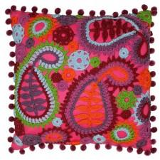 Paisley Haakkussen - Paisley Crochet Cushion
