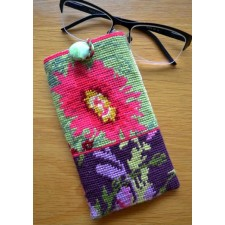 Briletui bloemen - Glasses case