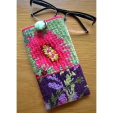 Briletui bloemen - Glasses case