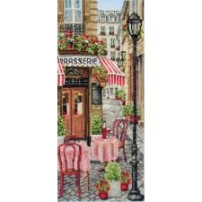 Scène in Frans stadje - French City Scene