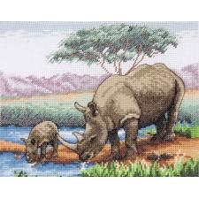 Neushoorns - Rhinos