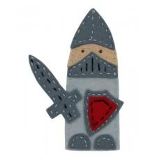 Vingerpoppetje Ridder - Knight Finger Puppet