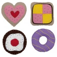 Soft toys taartfeestje - Cake Party Set