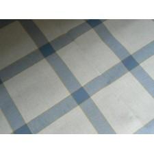 Tafelkleedje vierkanten blauw-wit