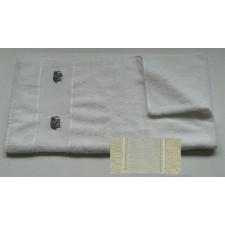 Handdoek gebroken wit