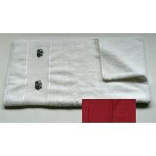 Handdoek donkerrood/bordeaux