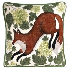 Cushion cross stitch kit Catherine Rowe - Spring Fox - Bothy Threads