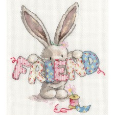 Cross stitch kit Bebunni - Friend - Bothy Threads
