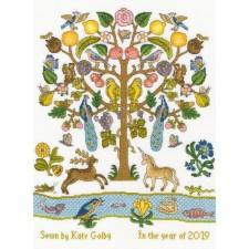 Cross stitch kit Tree of Plenty - Bothy Threads