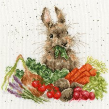 Cross stitch kit Hannah Dale - Grow Your Own - Bothy Threads