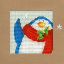 Snowy Penguin