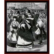 Broadway, 1868