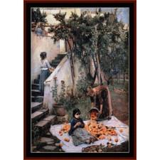 Orange Gatherers