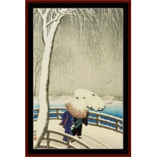 Snow Time at Willow Bridge