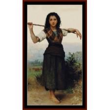 Little Shperdess, 1889