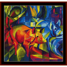Red and Blue Pigs