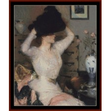 Lady Trying on Hat, 1904