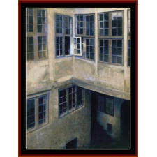 Interior of Courtyard