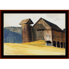 Barn and Silo, 1929