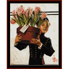 Bellhop with Hyacinths