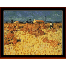Corn Harvest in Provence