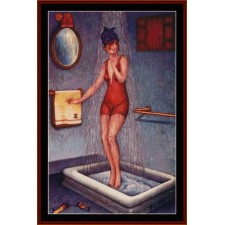 Pin-Up in Shower