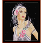 Glamour Girl in White