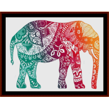 Elephant Mandala I