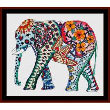 Elephant Mandala II