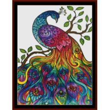 Fantasy Mandala Peacock I