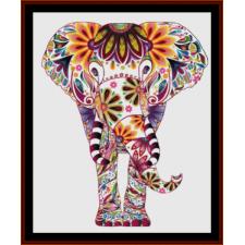 Elephant Mandala VIII