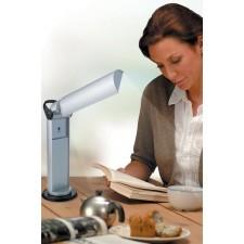 Lamp zilver - opklapbaar model