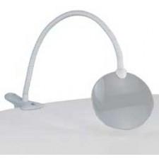 Flexibele loep met tafelklem - wit