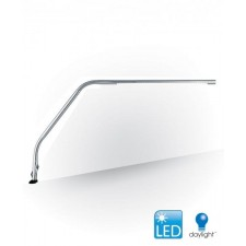 Slimline LEDTable Lamp, Brushed Chrome