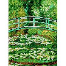 Brug over een vijver van waterlelies (Claude Monet)