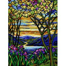 Landschap  (Louis Comfort Tiffany)