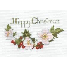 Kerstkaart Kerstrozen - Christmas Roses
