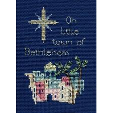 Kerstkaart Betlehem - Bethlehem