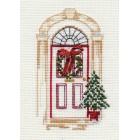 Kerstkaart Kerstdeur - Christmas Door