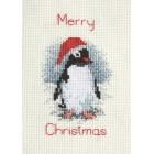 Kerstkaart Pinguin - Penguin