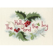 Kerstkaart De hulst en de klimop - The Holly and the Ivy