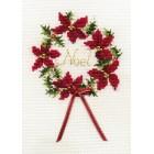 Kerstkaart Krans - Wreath