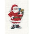 Kerstkaart Kerstman met zak - Santa's Sack