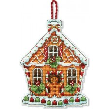 BORDUURKIT Kerst broodhuisje - GINGERBREAD HOUSE