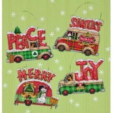 BORDUURKIT Kersttrucks - HOLIDAY TRUCK