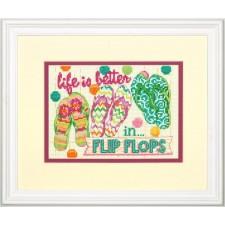 BORDUURKIT Slippers - FLIP FLOPS