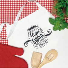 BORDUURKIT Schort Moeders keuken - MOMS KITCHEN APRON