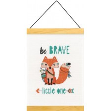 BORDUURKIT WEES DAPPER - BE BRAVE