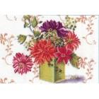 Bloemen van patroonblad 9607L/22